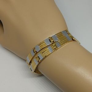 Other - Gold and silver bracelet set.